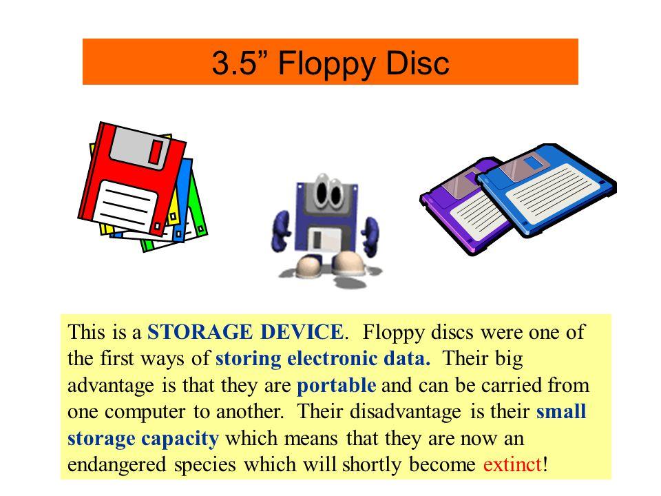 3.5 Disc Info. 3.5 Floppy Disc