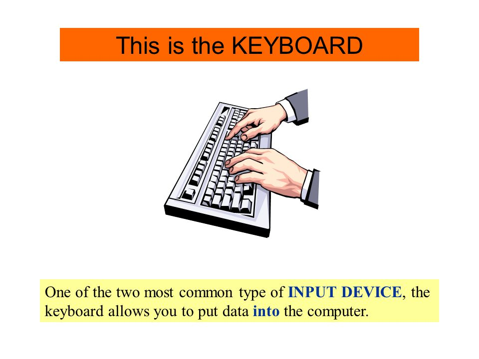 Keyboard Keyboard Info. This is the KEYBOARD