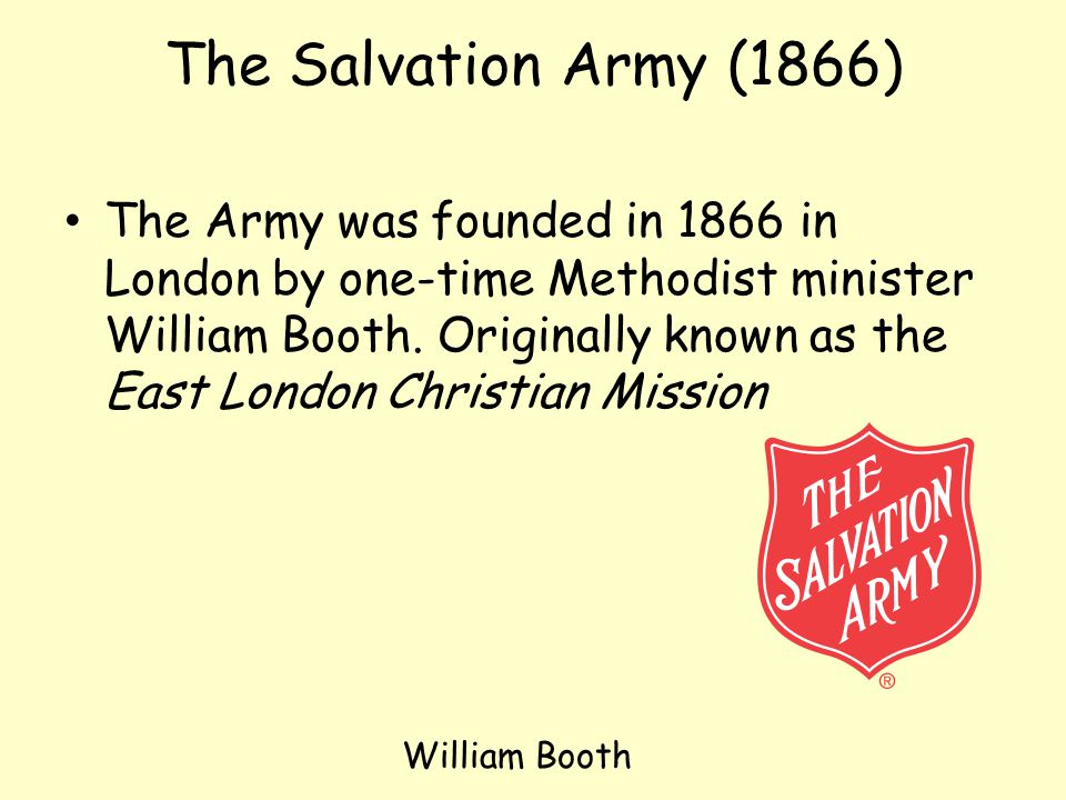 The Salvation Army (1866)