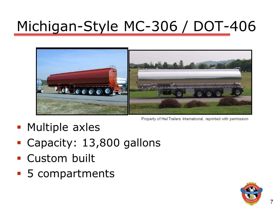 Michigan-Style MC-306 / DOT-406