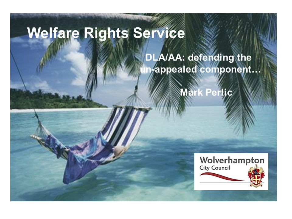 Welfare Rights Service
