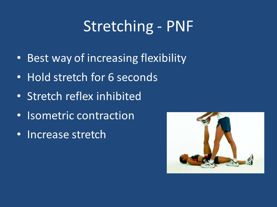 Stretching - PNF Best way of increasing flexibility