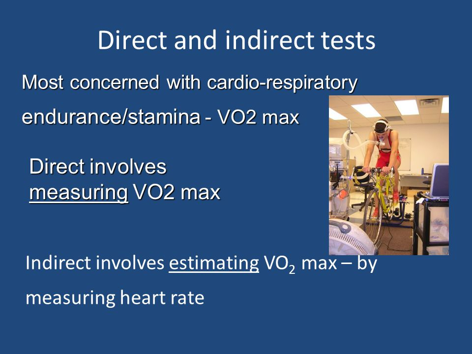 Direct and indirect tests