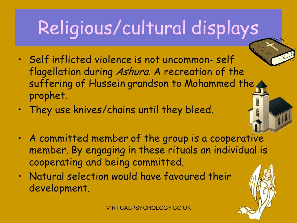 Religious/cultural displays