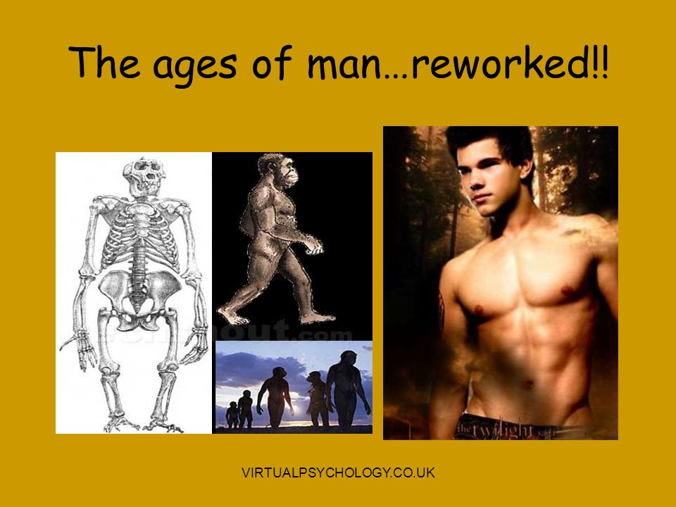 The ages of man…reworked!!