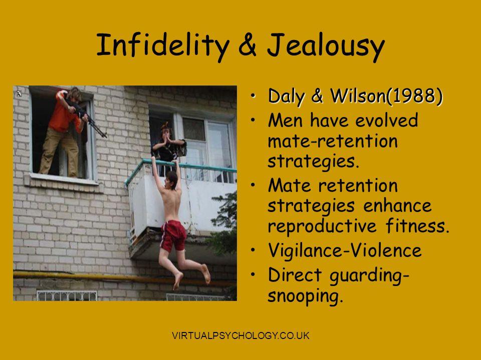 Infidelity & Jealousy Daly & Wilson(1988)