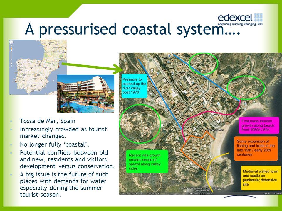 A pressurised coastal system….