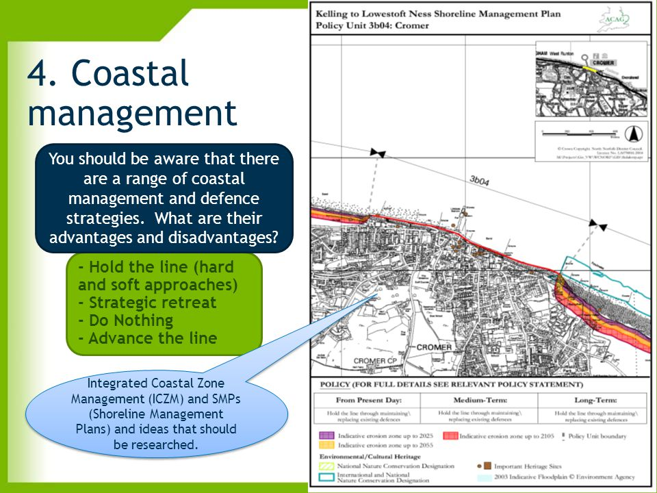 4. Coastal management
