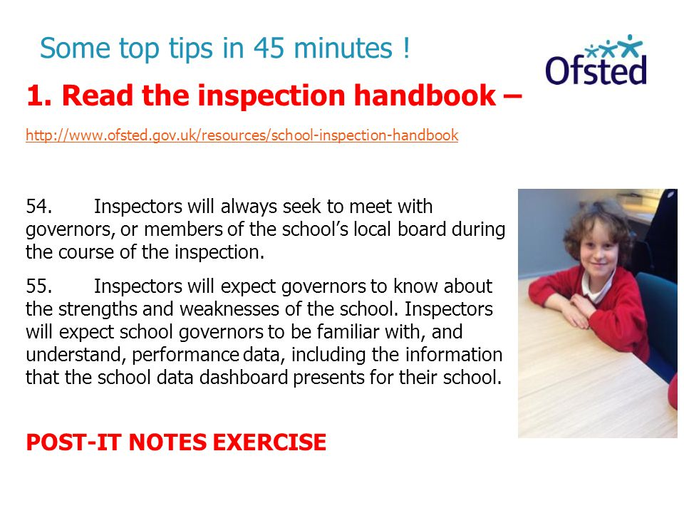 Some top tips in 45 minutes !