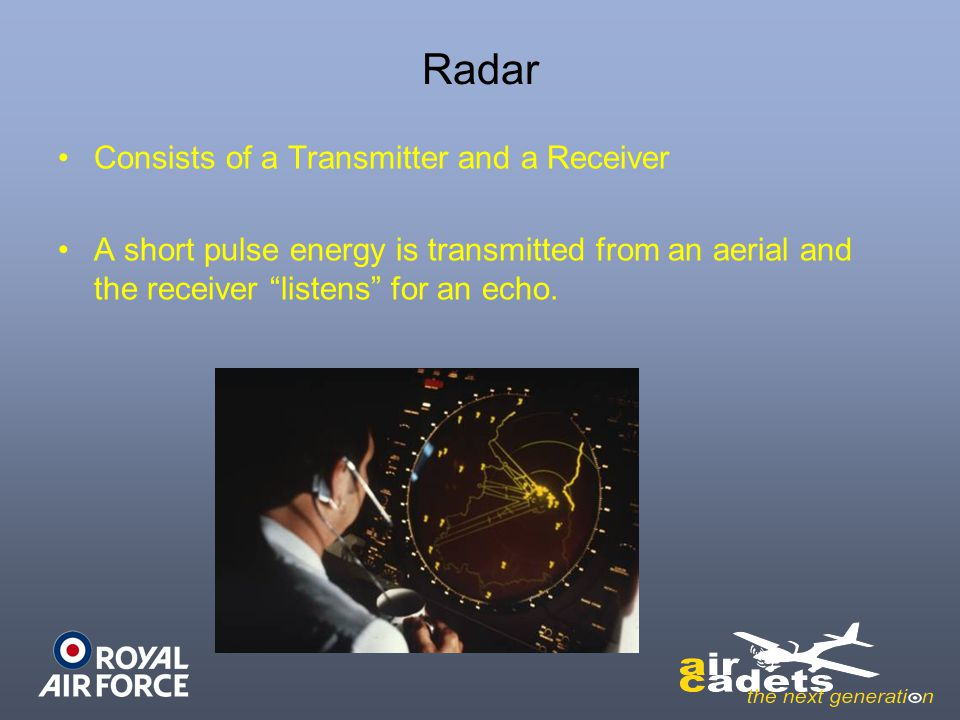 Radar Consists of a Transmitter and a Receiver