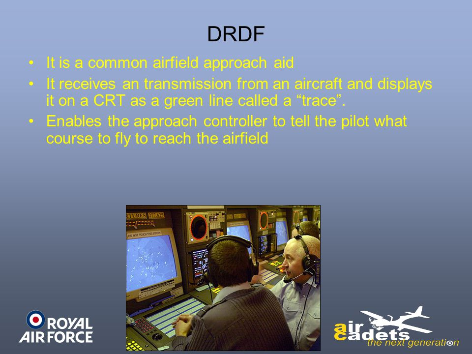 DRDF It is a common airfield approach aid