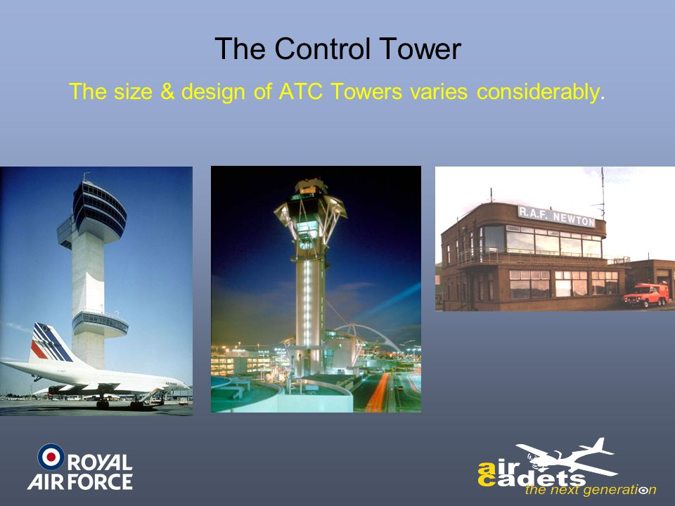 The size & design of ATC Towers varies considerably.
