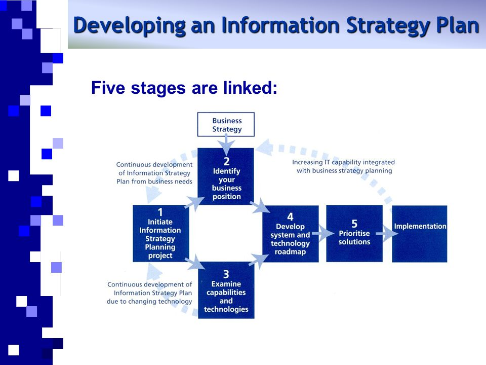 Information systems strategy at stratex