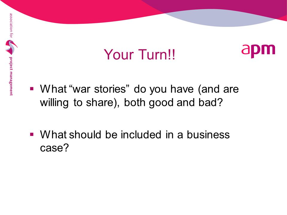 Your Turn!. What war stories do you have (and are willing to share), both good and bad.