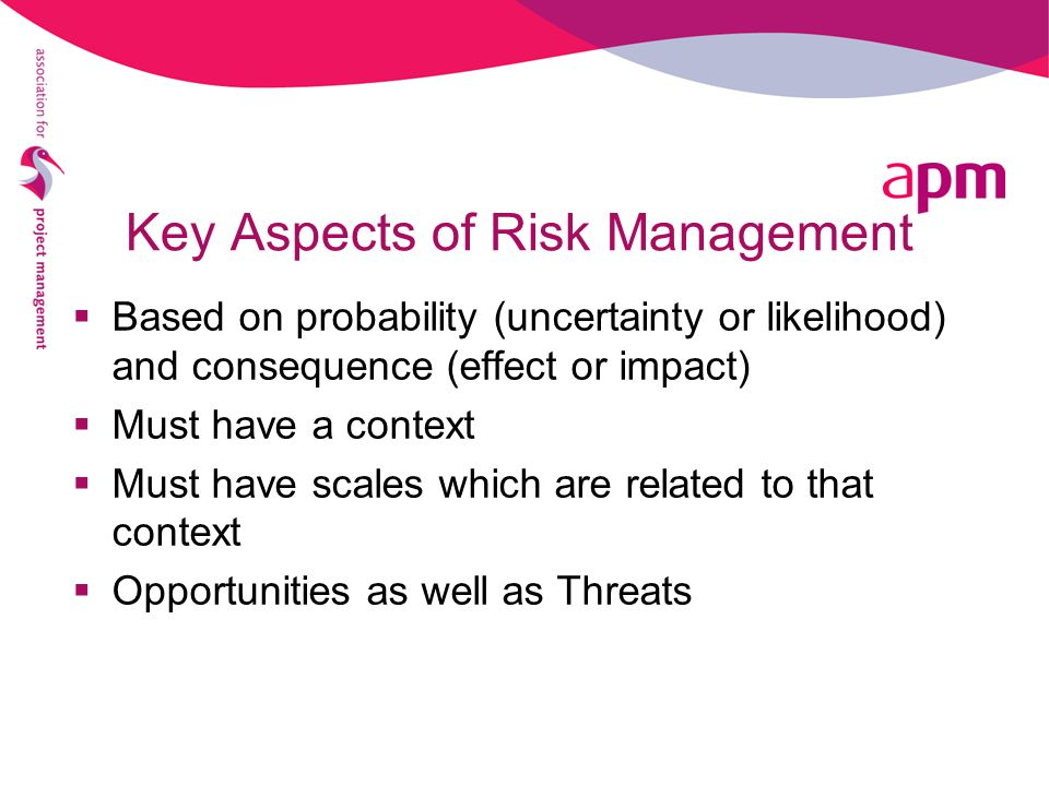 Key Aspects of Risk Management