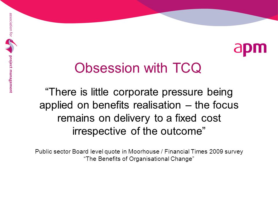 Obsession with TCQ