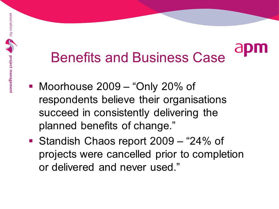 Benefits and Business Case