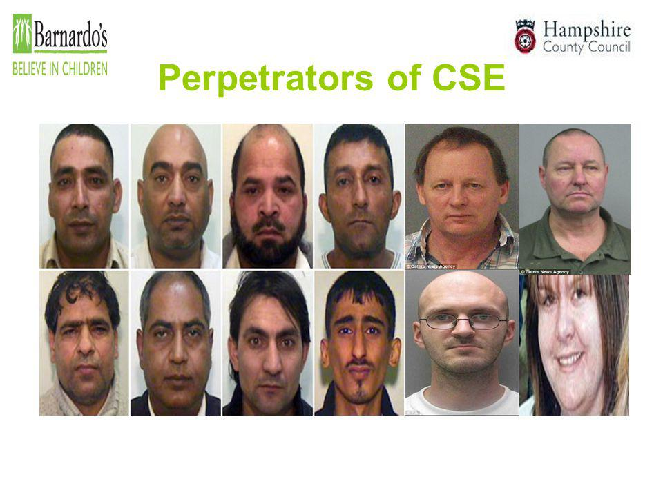 Perpetrators of CSE