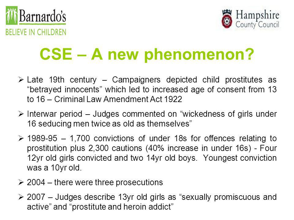 CSE – A new phenomenon