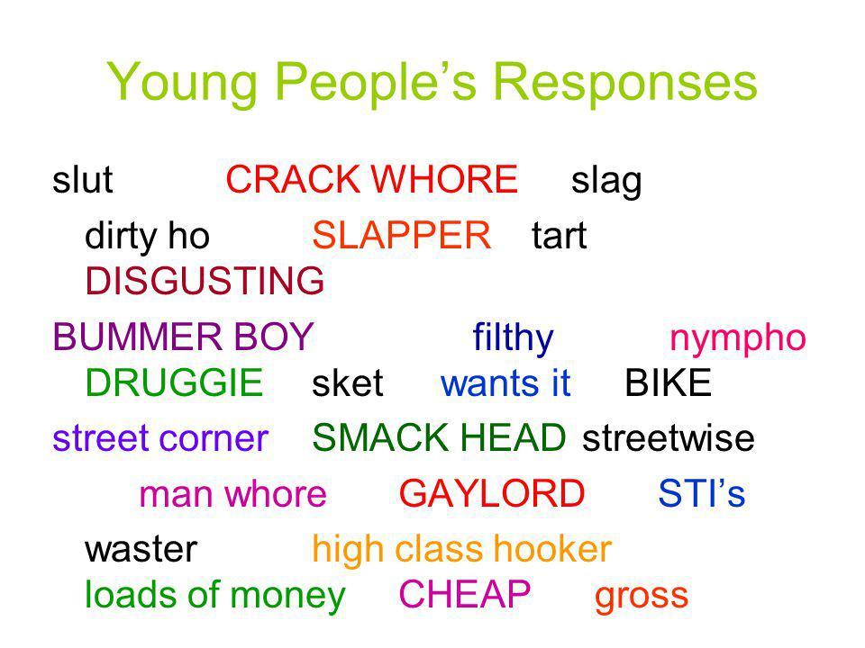 Young People's Responses