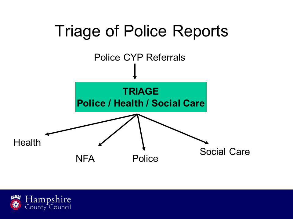 Triage of Police Reports