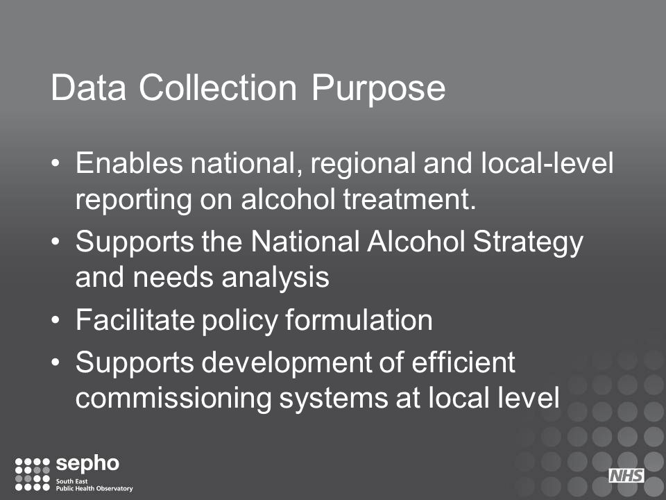Data Collection Purpose