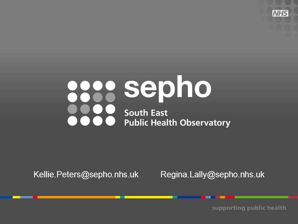 Kellie.Peters@sepho.nhs.uk Regina.Lally@sepho.nhs.uk
