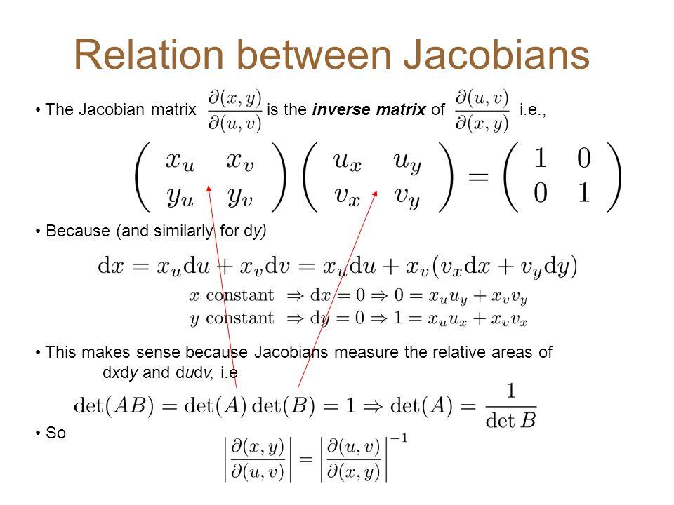 Relation between Jacobians