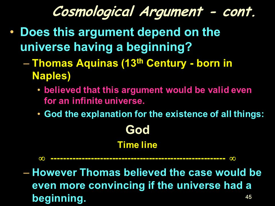 how convincing is the kalam argument What argument do you personally use to justify the existence of god the kalam argument thus confirms one element of christian forums @ christianity board.