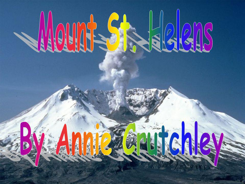 Mount St. Helens By Annie Crutchley