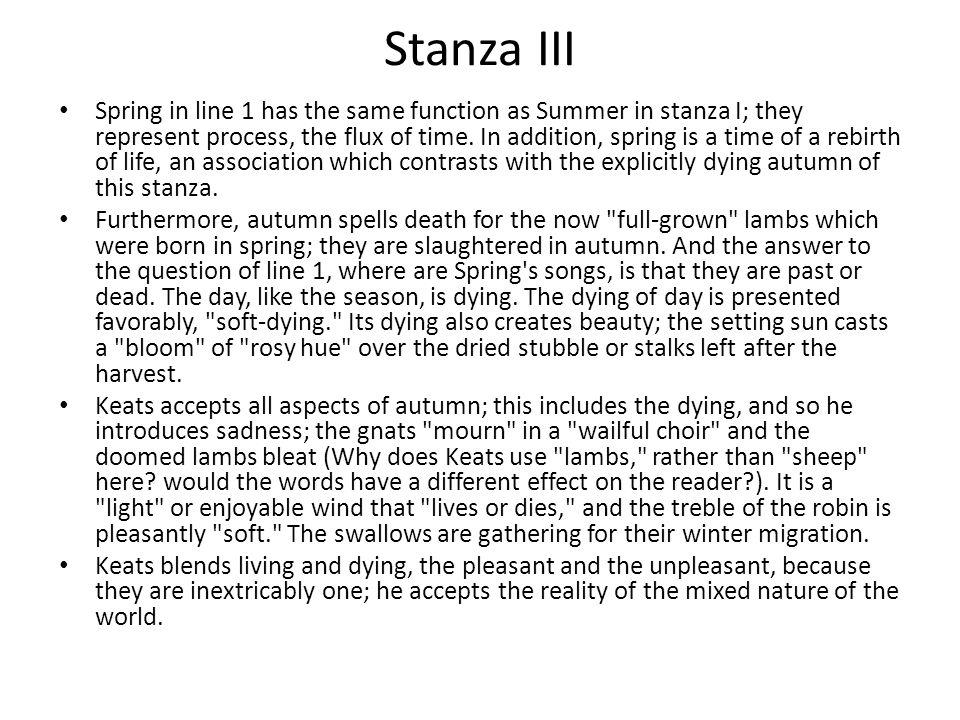 Stanza III