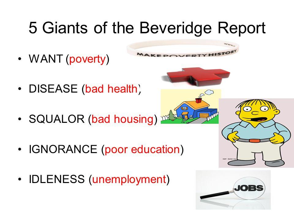 5 Giants of the Beveridge Report