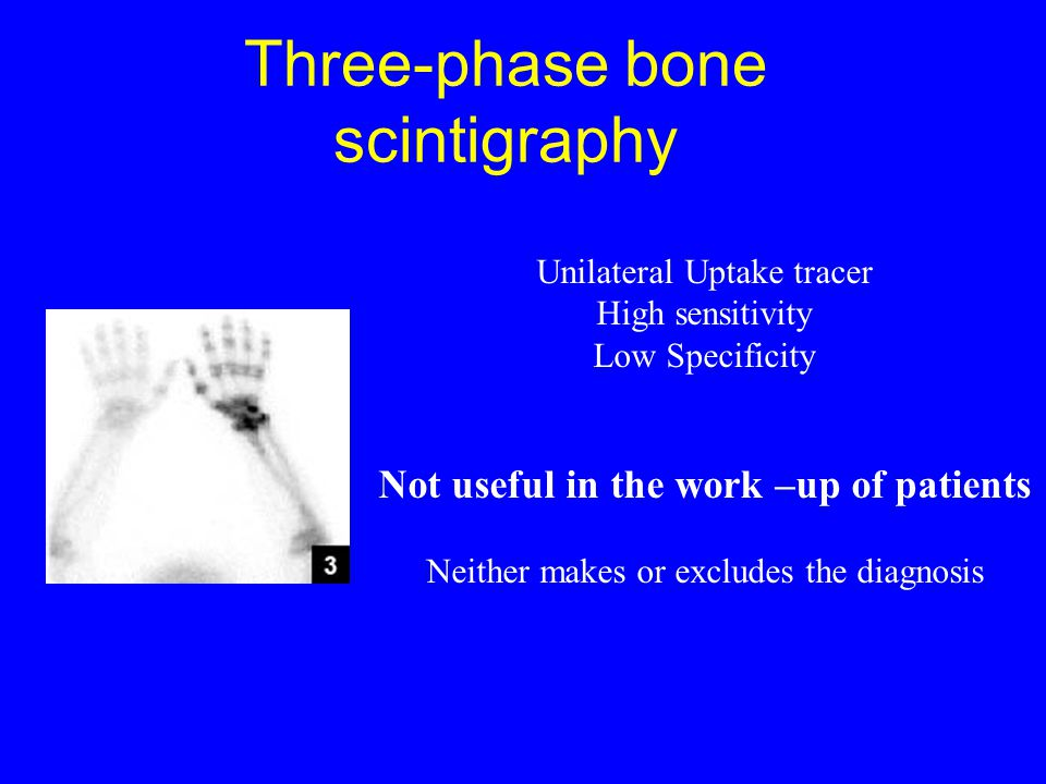 Three-phase bone scintigraphy