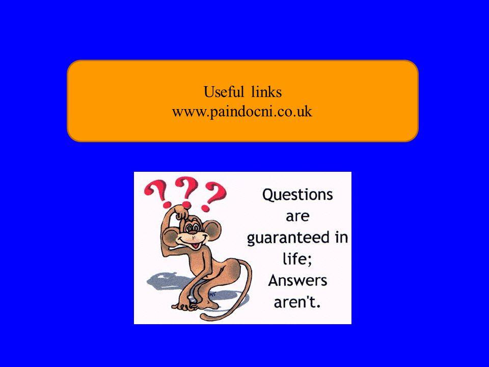 Useful links www.paindocni.co.uk