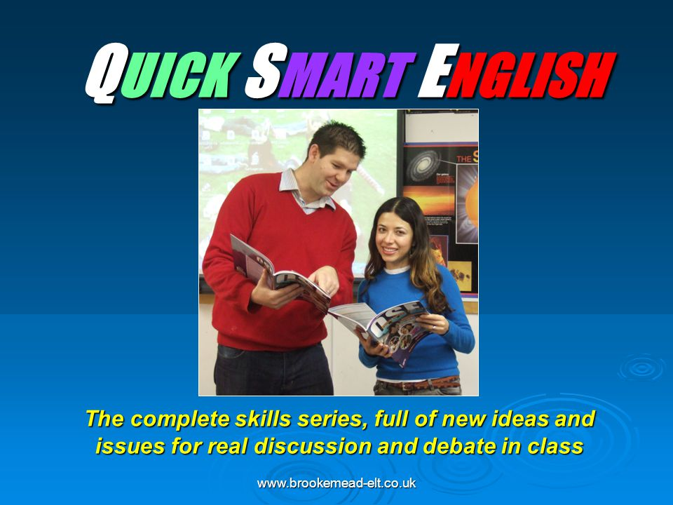 QUICK SMART ENGLISH Thanks for inviting me – Petros, Eduard (who I seem to have met already)