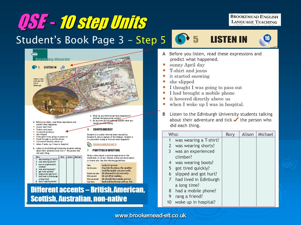 QSE - 10 step Units Student's Book Page 3 – Step 5