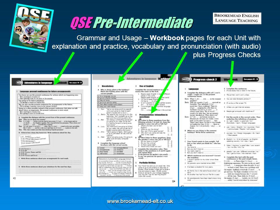 QSE Pre-Intermediate
