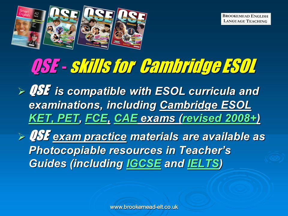 QSE - skills for Cambridge ESOL