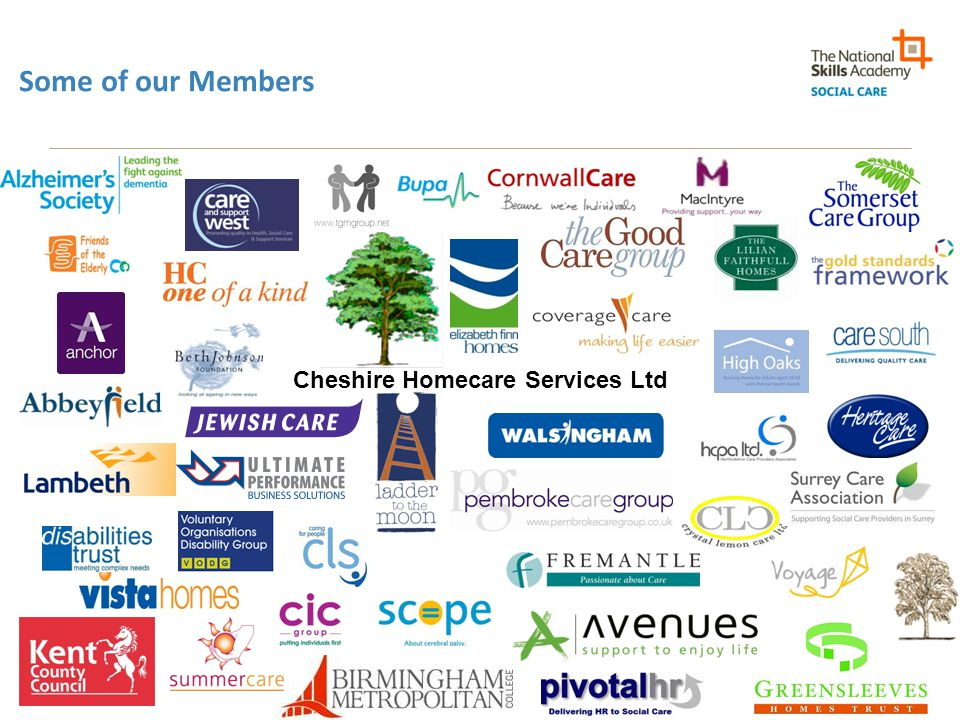 Some of our Members Cheshire Homecare Services Ltd