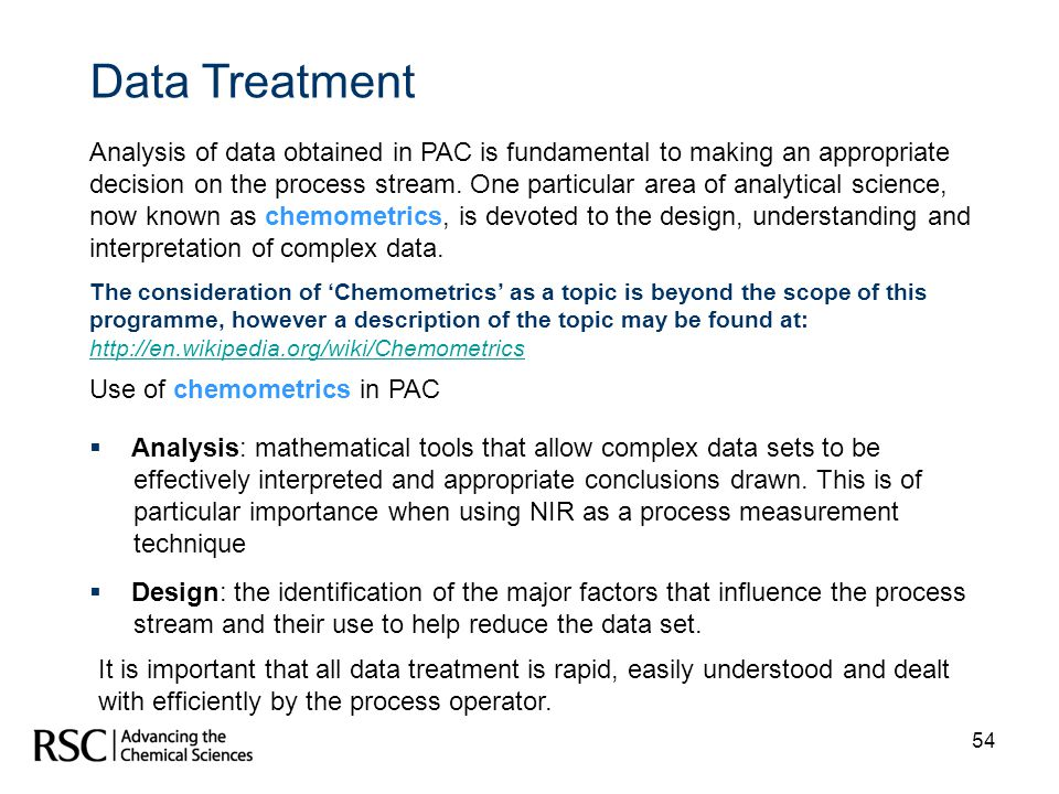 Data Treatment
