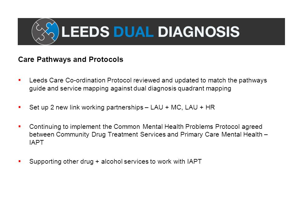 Care Pathways and Protocols