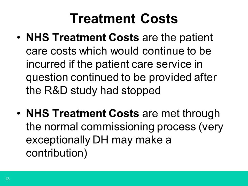Treatment Costs