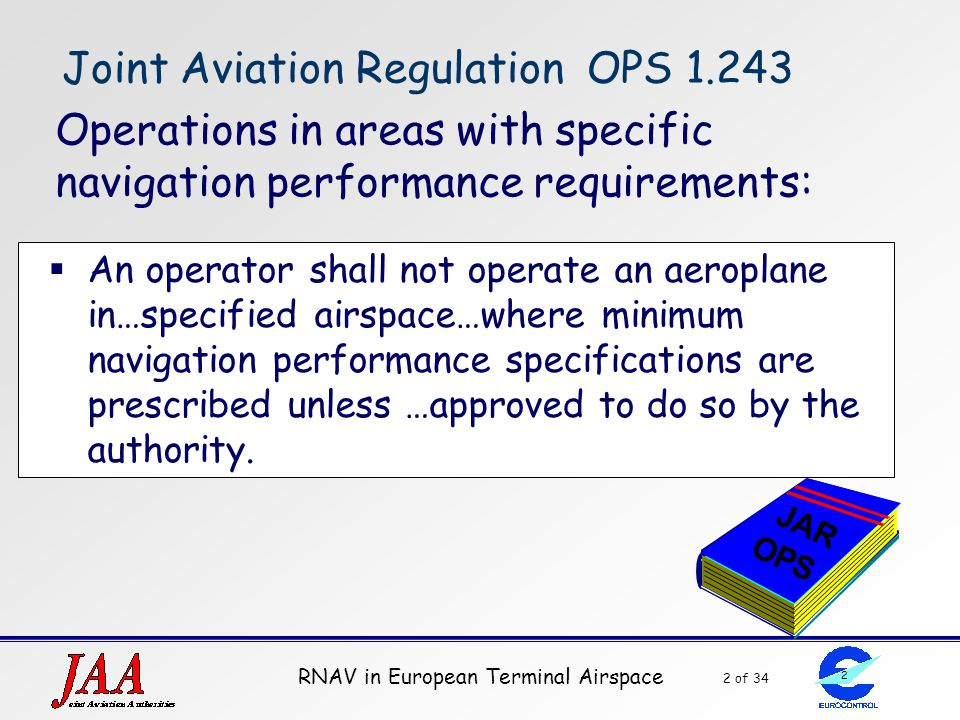 Joint Aviation Regulation OPS 1.243