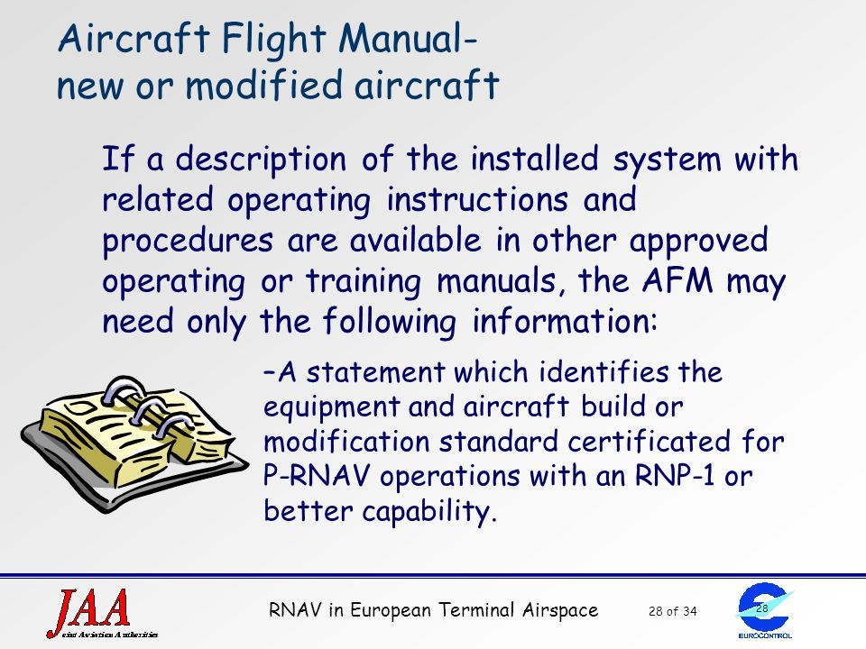 Aircraft Flight Manual- new or modified aircraft