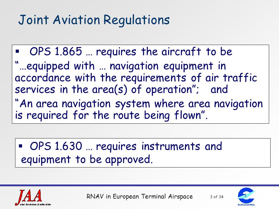 Joint Aviation Regulations
