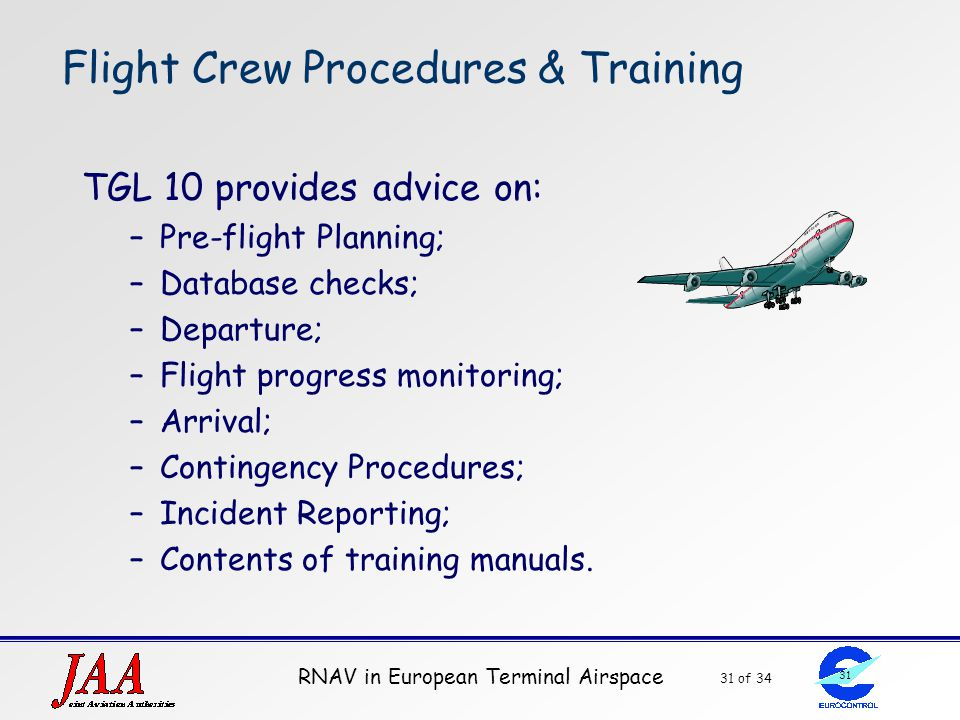 Flight Crew Procedures & Training