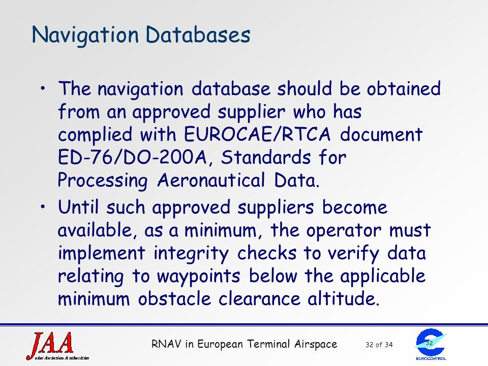 Navigation Databases