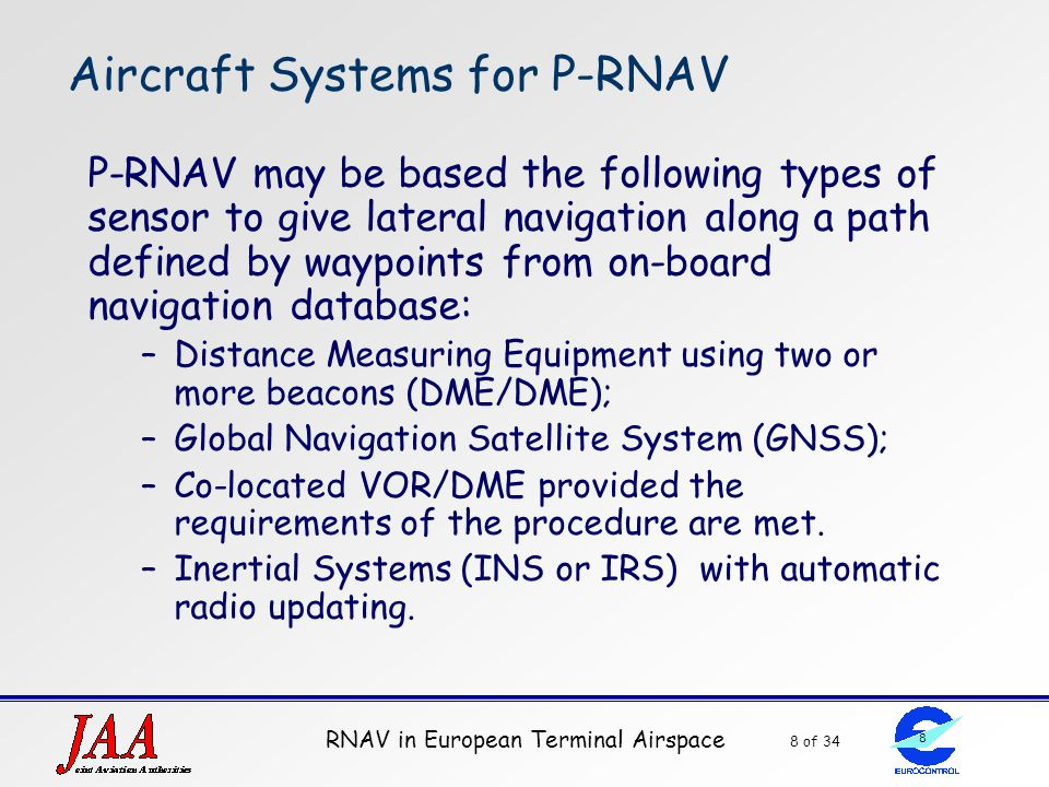 Aircraft Systems for P-RNAV