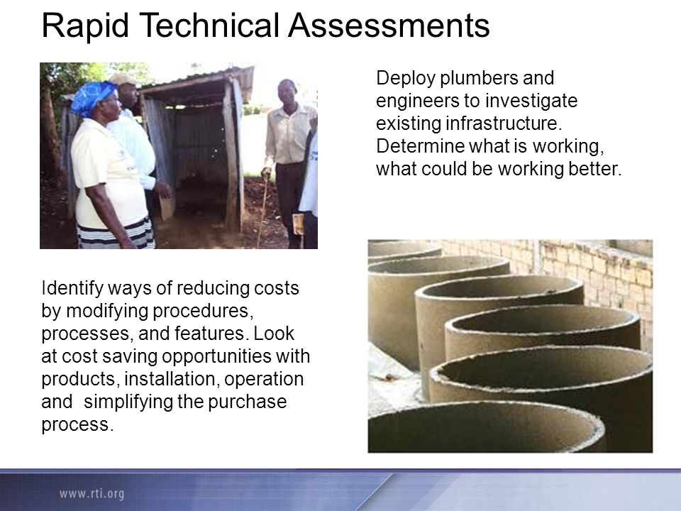 Rapid Technical Assessments