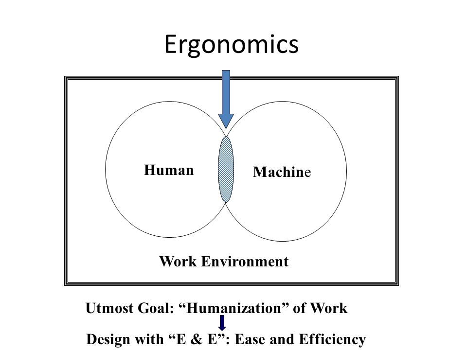 Ergonomics Human Machine Work Environment
